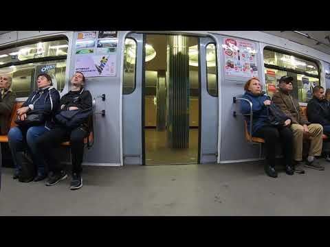 Метро в Киеве: The Metro in Kiev, Ukraine 2019
