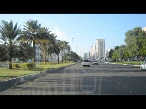 City Centre of Abu Dhabi Zayed Street Near bus Station united Arab Emirates