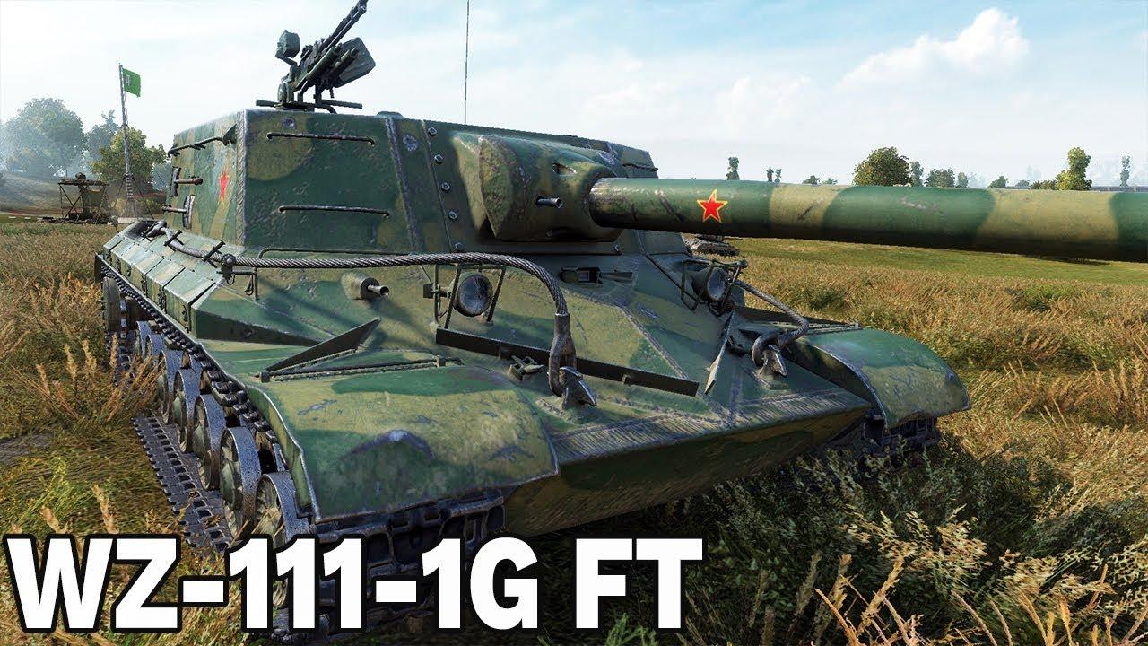 MOCNA LUFA – WZ-111-1G FT – World of Tanks