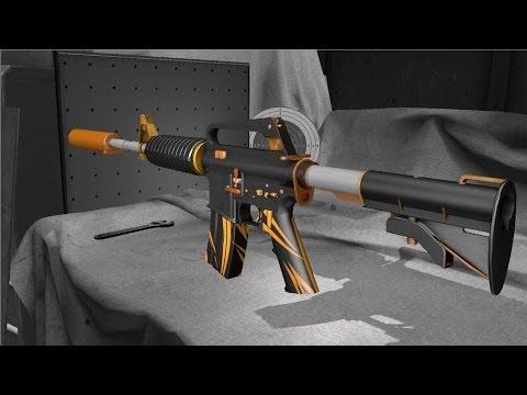 Раскраска для оружия cs go
