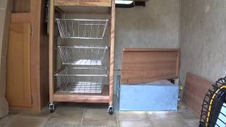Travel Trailer Remodel Part 3: Building Model 7225 21inch Kitchen Island
