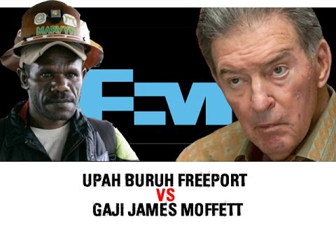 Upah Buruh Freeport VS Gaji James Moffett