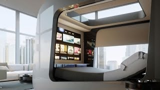 A High Tech Bed To Wish You Good Night Sleep | High tech bedroom furniture | High tech beds for sale
