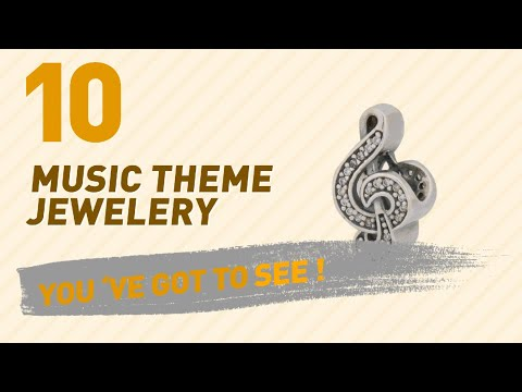 Music Theme Jewelery Collection For Women // UK New & Popular 2017
