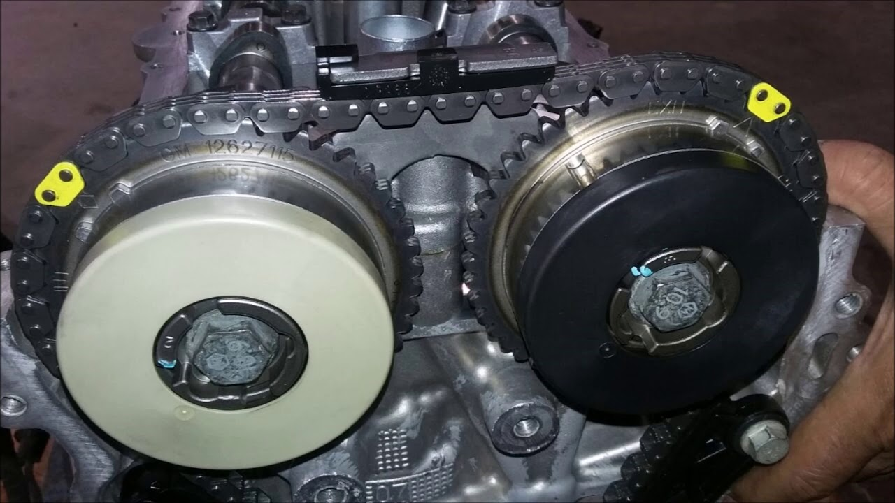 hight resolution of chevrolet malibu 2017 timing setting mark 4 cylinder