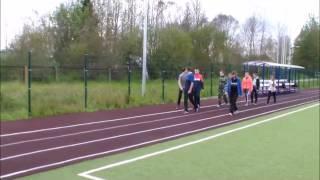 Урок физкультуры в Путиловской школе