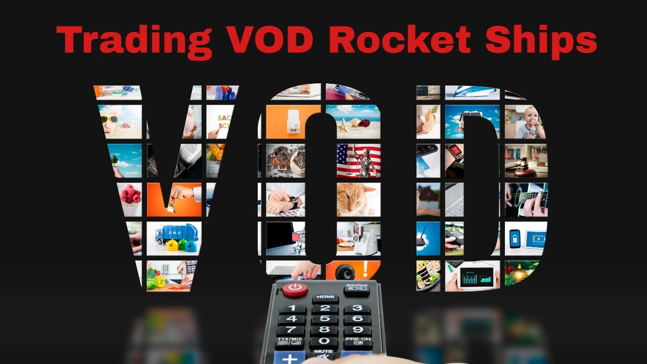 Growth Stock Trading VOD  Swing Trading a ROKU Rocket Ship