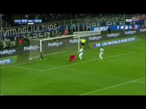 Atalanta Vs AC Milan (1) - 0 ( Andrea Conti ) 44'