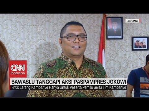 Bawaslu Tanggapi Aksi Paspampres Jokowi Soal Pose 2 Jari
