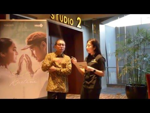 Interview Session with Lukman Sardi, Surat Cinta Untuk Kartini
