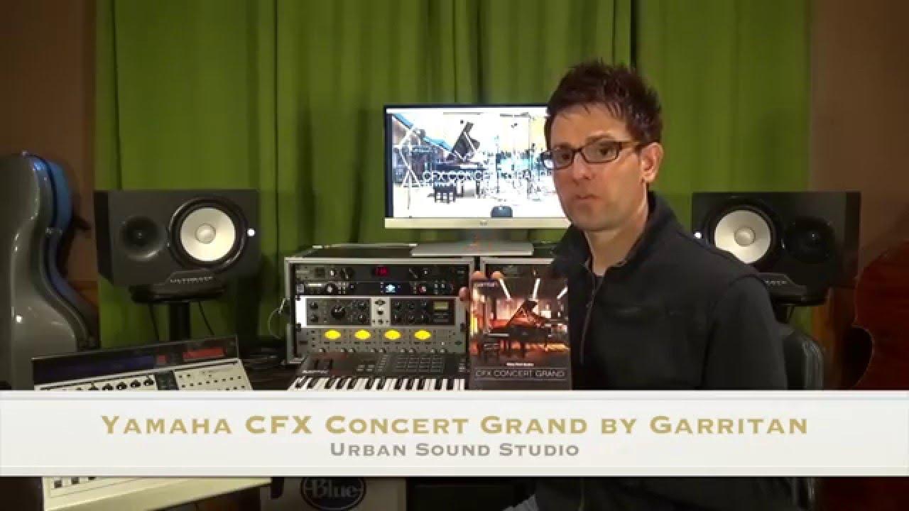 Garritan Yamaha CFX Concert Grand Piano Virtual Instrument