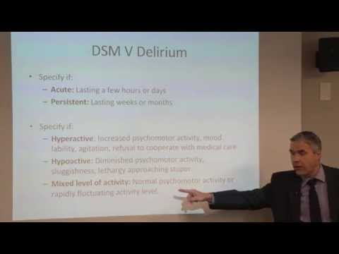 DSM-5 Neurocognitive Disorders