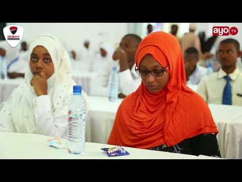 Zawadi zilizotolewa kwa waliofaulu masomo ya Sayansi Zanzibar