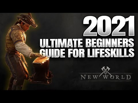 New World ► Ultimate Lifeskills Guide – All Gathering & Crafting Jobs, Everything To Know  (2021)