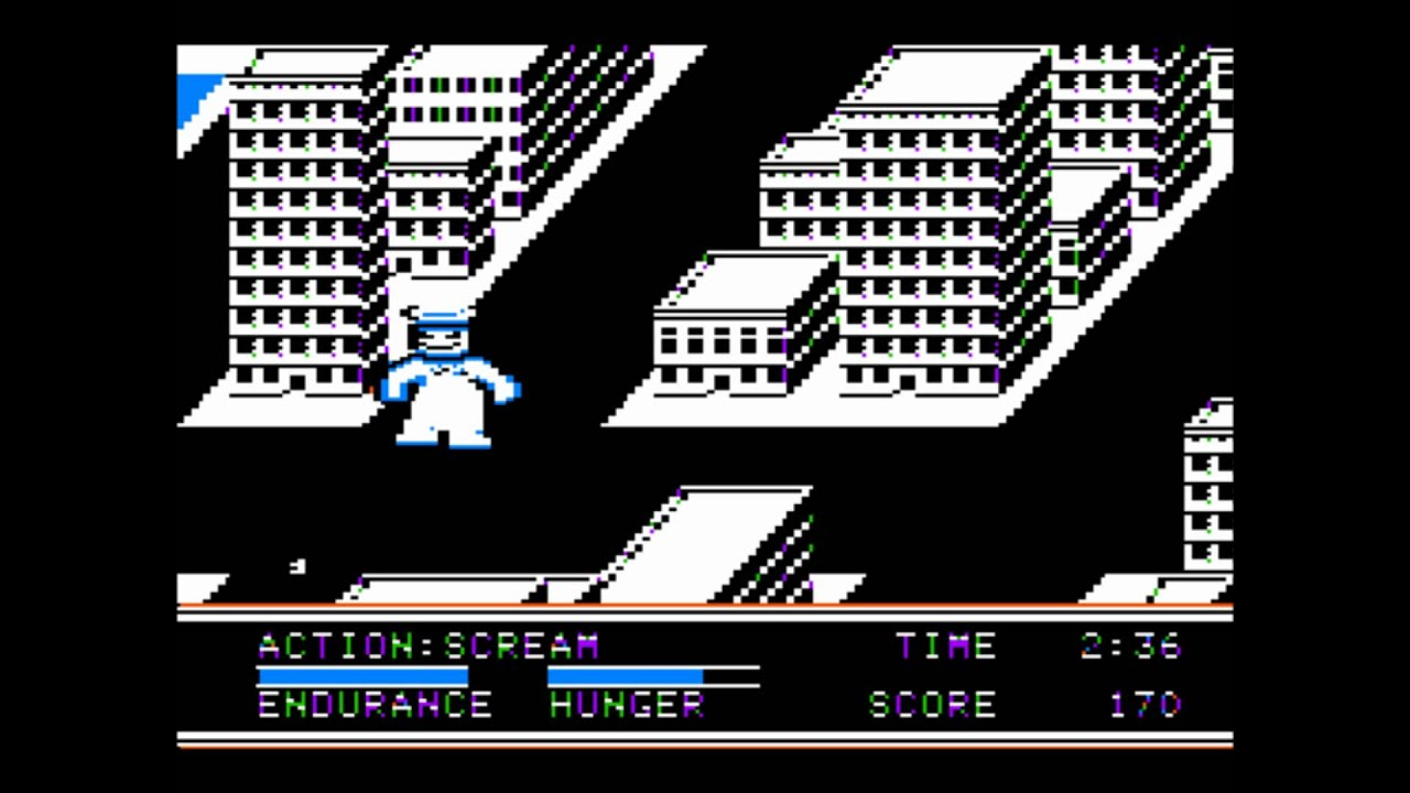 The Movie Monster Game for the Apple II