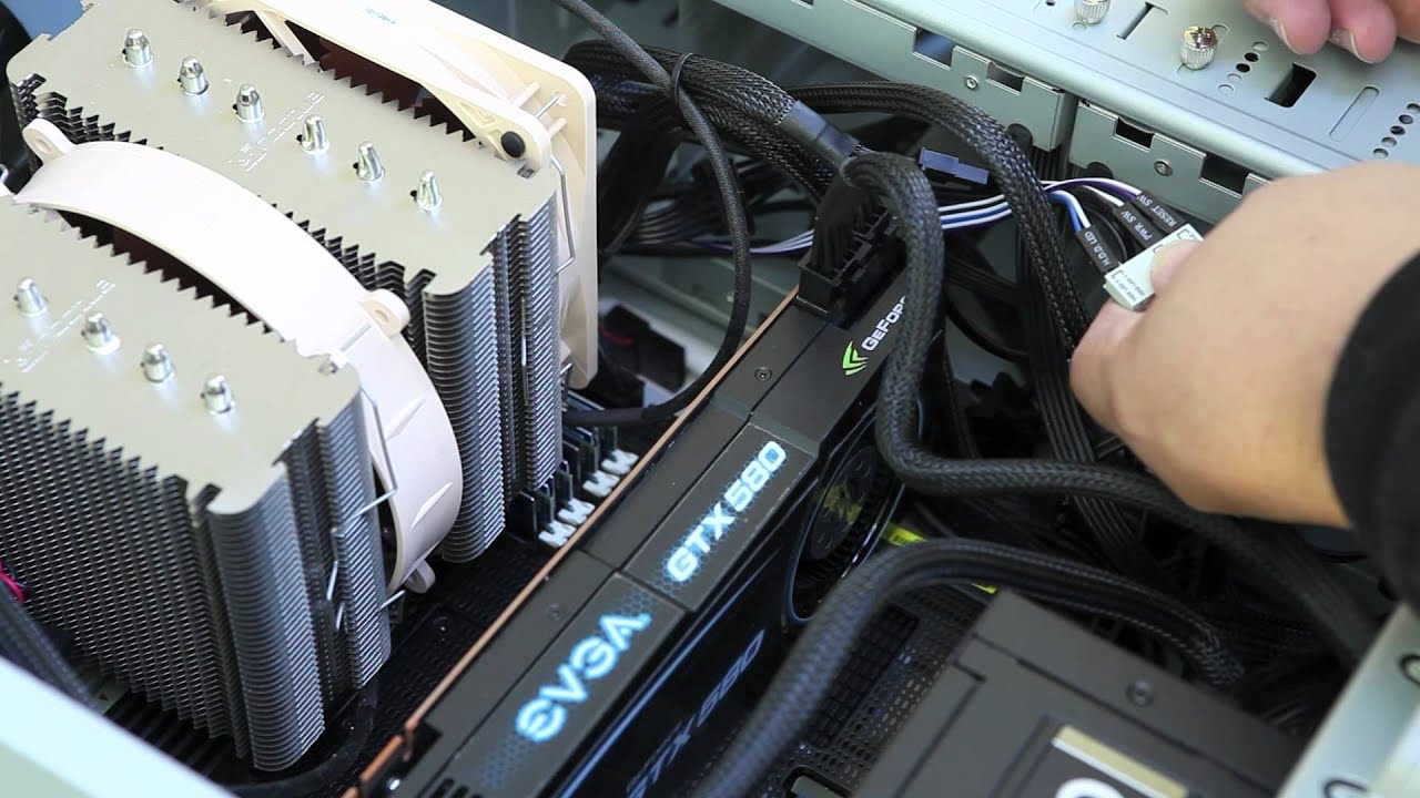 Cable Management and Motherboard Extension Cables Build Your Own ...
