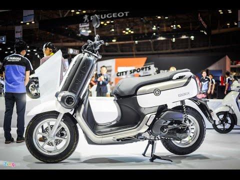 CuongMotor - scooter kiểu dáng độc đáo Yamaha QBIX 125 đối thủ Honda Zoomer-X vừa có mặt tại VN