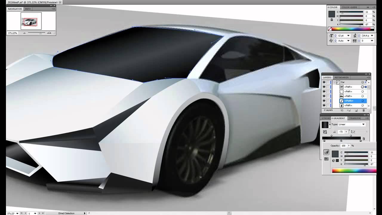 Vector Car Design Youtube
