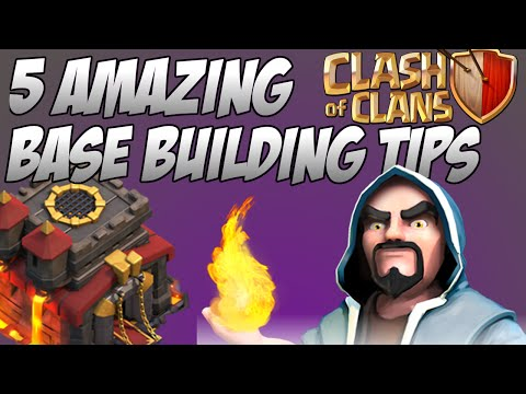 5 Ultimate Base Building Tips In Clash of Clans (April 2015)