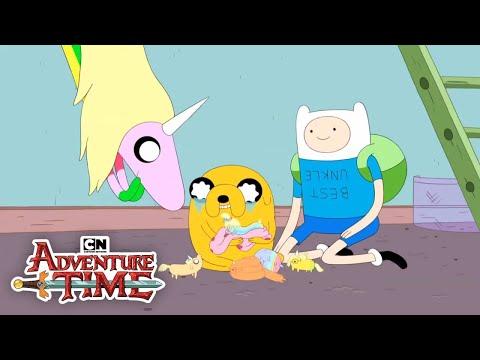 Jake The Dad | Adventure Time | Cartoon Network