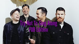 Try Not To Sing Along l Fall Out Boy Edition