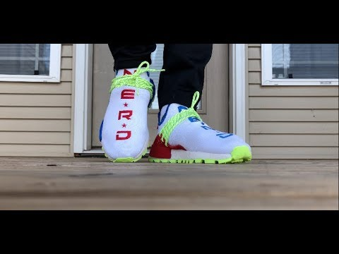 d2230197c ADIDAS x N.E.R.D. NMDHOMECOMING ON FOOT LOOK!!! - YouTube