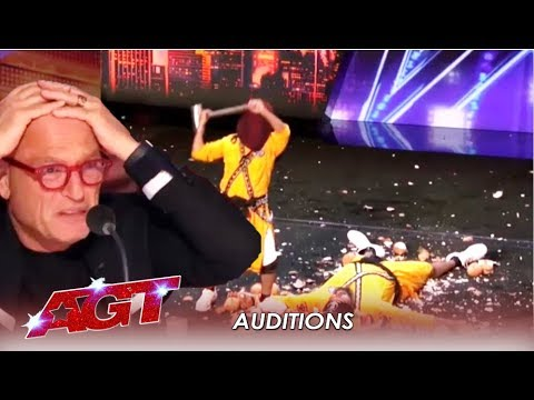 Bir Khalsa: Indian EXTREME Danger Group (*Warning* You WILL Flinch) | America's Got Talent 2019