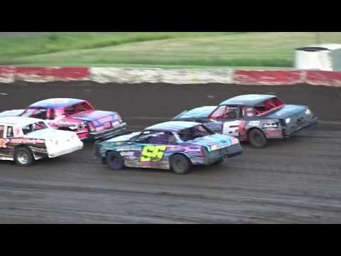 06/14/2019 Beatrice Speedway Hobby Stock Heat #2