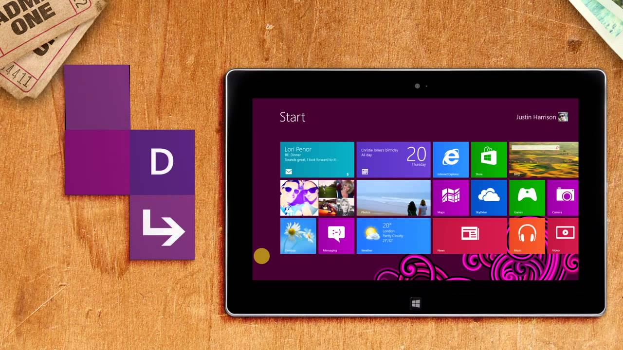 how to change wallpaper on windows 8