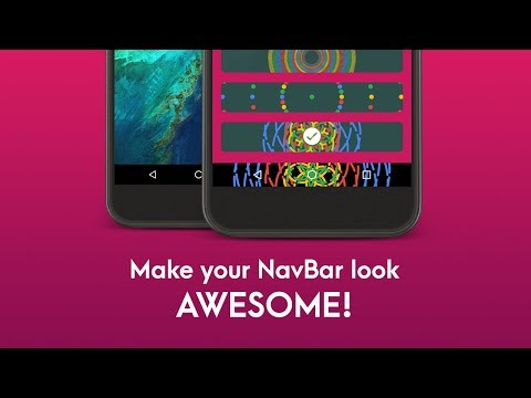 NavBar Animations | No Root | Android App | Promo Video