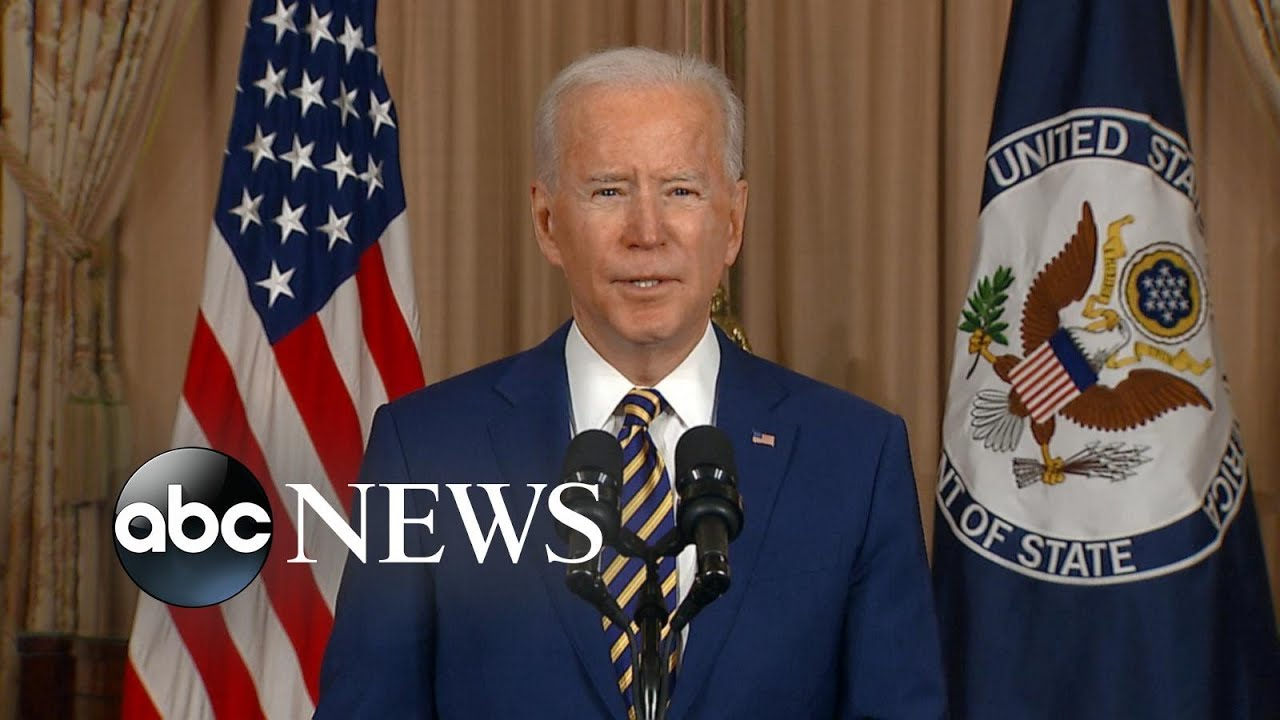 President Biden delivers foreign policy remarks