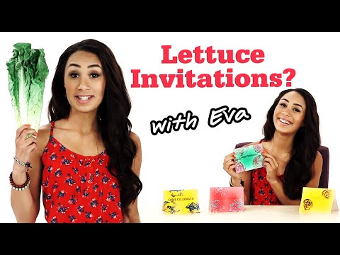 DIY Party Invitations With Eva + OOTD! #17Daily