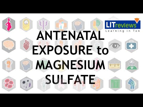 Antenatal Exposure to Magnesium Sulfate and Neuroprotection in Preterm Infants
