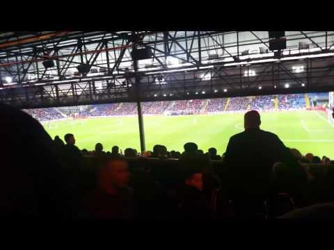 Manchester City Fans Singing Vincent Kompany Song Vs Crystal Palace Away