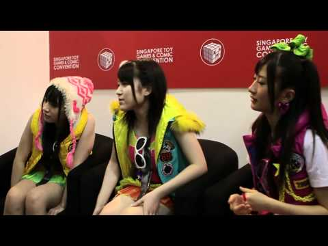 AKB48 Interview @ Singapore Toys, Games and Comics Conventio