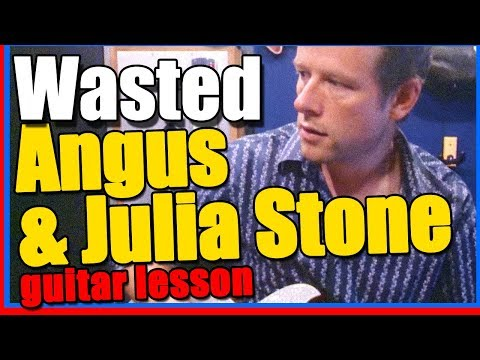 Angus and Julia Stone - Wasted: Guitar Lesson