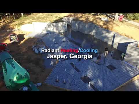 Solar Powered Radiant Heating in North Georgia