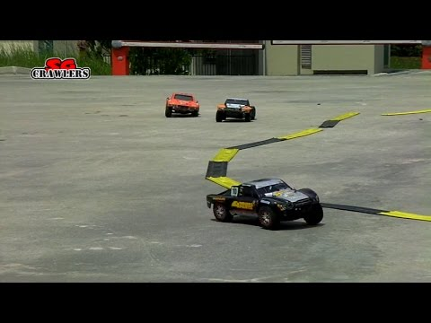RC Trucks Traxxas Slash 4x4 Turnigy Trooper HPI Blitz 2WD Short course Trucks Racing! on road fun!