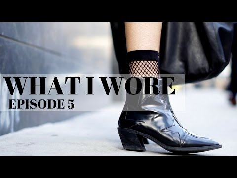 WHAT I WORE   EPISODE 5   Star Boots + Brooklyn + Hells Kitchen