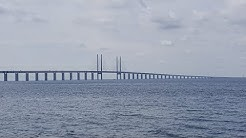 Fahrt über die Öresundbrücke