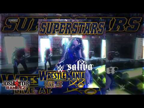 WWE: Superstars  At WrestleMania 18  Saliva  DL With Custom s