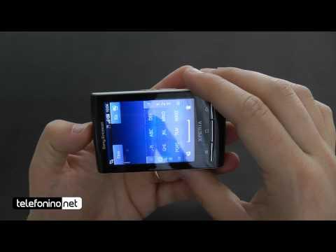 Sony Ericsson X10 mini videoreview da Telefonino.net