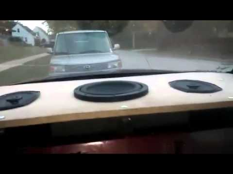 Single 10 Quot Memphis C3 Rear Deck Install Youtube