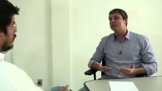 O senador PT - RJ e pré-candidato ao governo, Lindberg Farias, em e...