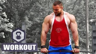 Bodybuilding Motivation - outdoor gym IRON LAND | MadeIn USSR