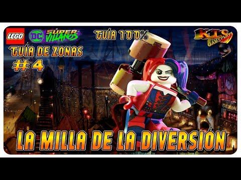 LEGO DC SÚPER-VILLANOS. #23: SÚPER S.T.A.R. [GUÍA 100%] from YouTube · Duration:  23 minutes 37 seconds