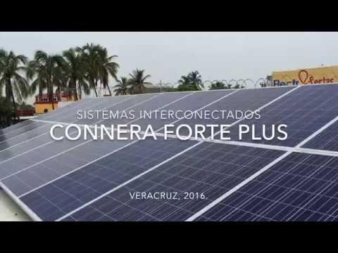 Connera forte plus en Veracruz (energía solar )