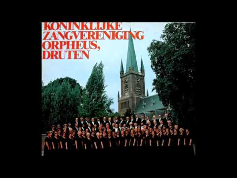 "Concert by the Royal Mixed Coral Society ""Orpheus"", Druten ca. 1975,conductor Jan van Wees."