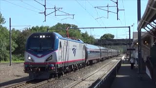 [HD] Rescue Train, P&W, and More on the Amtrak Northeast Corridor in August 2014