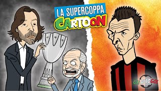 AUTOGOL CARTOON - La Supercoppa e Mandzukic al Milan
